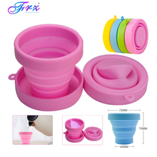 Menstrual sterilizing cup Recyclable flexible Collapsible Cup to clean  Camping Foldable Sterilize