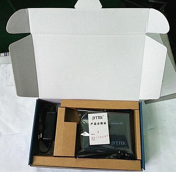 10/100 / 1000M, SFP Fiber Media Converter, Двухбаковы - Камунікацыйнае абсталяванне - Фота 5