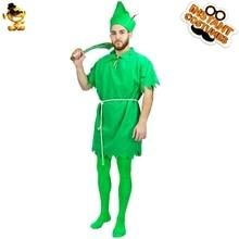 Peter Pan Traje para Homens Adultos do Vestido Extravagante Festa de  carnaval Outfits Roupas de Festa Do Dia Das Bruxas Engraçad. 18b5b4aa5f6