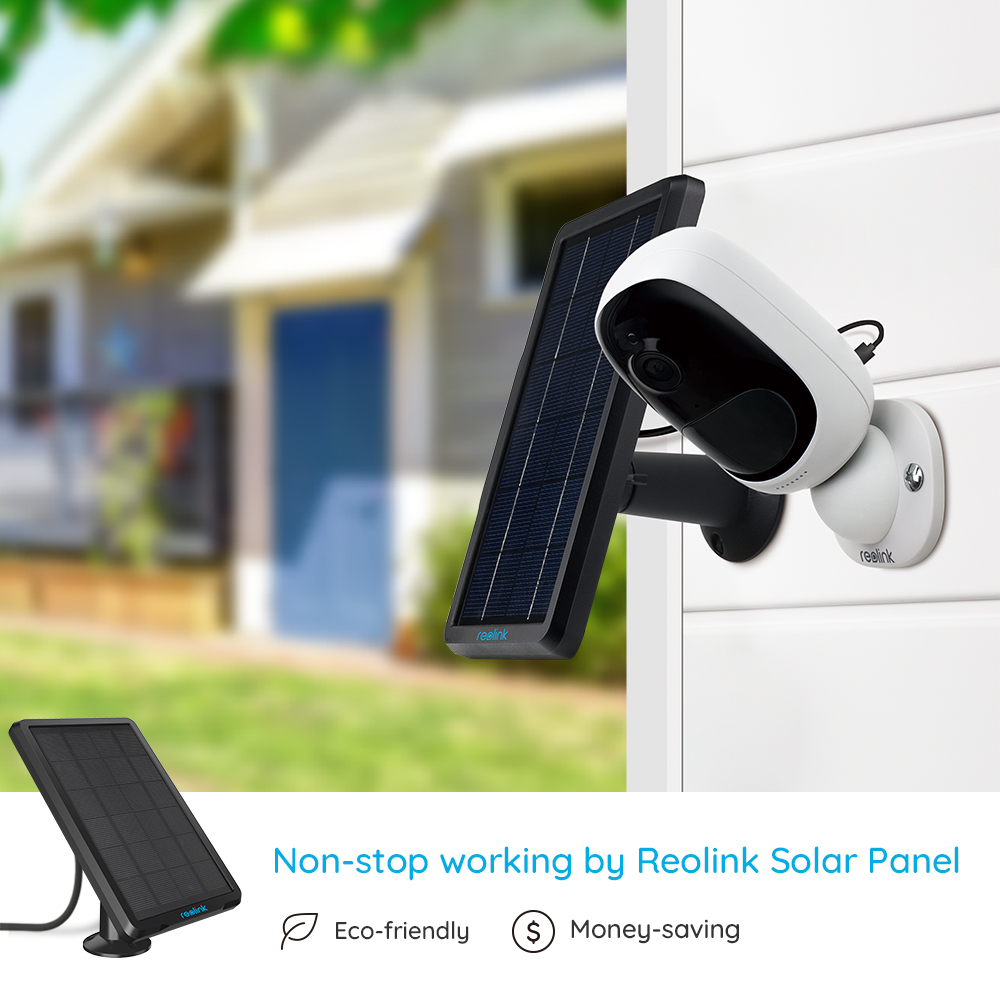 Image 3 - Reolink Argus 2 and Solar panel Continuous Rechargeable Battery 1080P Full HD Outdoor Indoor Security WiFi Camera 130 Wide View-in Surveillance Cameras from Security & Protection