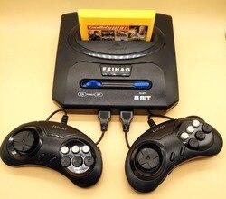 Retro tv vídeo game console para nes 8 bits jogos para jogos nes com dois gamepads e 500 em 1 cartucho todos os jogos diferentes