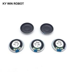Image 5 - 5 adet/grup Yeni Ultra ince Mini hoparlör 8 ohm 1 watt 1 W 8R hoparlör Çapı 20 MM 2 CM kalınlığı 4 MM