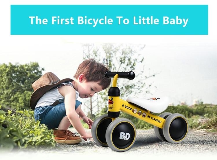HTB1kTt3mjihSKJjy0Ffq6zGzFXaV New brand children's bicycle balance scooter walker infant 1-3years Tricycle for driving bike gift for newborn Baby buggy