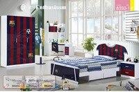 2016 Promotion Real Enfant Loft Bed Set Kids Table And Chair Wood Kindergarten Furniture Camas Lit Enfants Childrens Bunk Beds