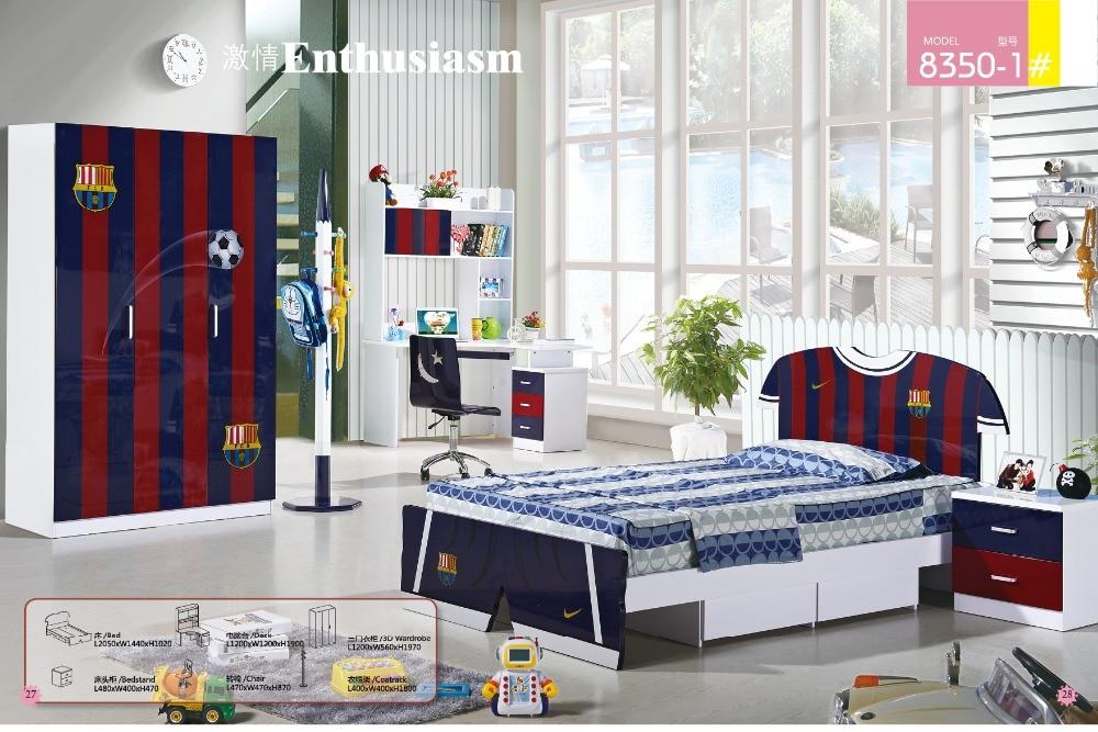 2019 Promotion Real Enfant Loft Bed Set Kids Table And Chair Wood Kindergarten Furniture Camas Lit Enfants Childrens Bunk Beds
