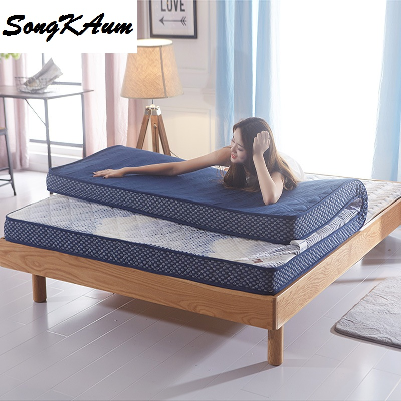 SongKAum Hot sale New Arrivel New Style High Resilience Memory Foam Mattress Fashion Design High Quality Thick Warm Comfortable