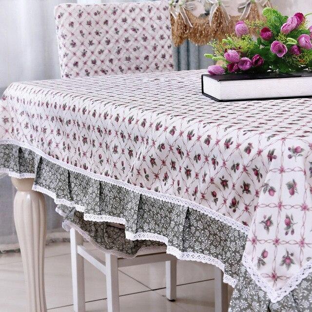 Elegante mantel Manteles Para Mesa cordones diseño estilo Pastoral ...