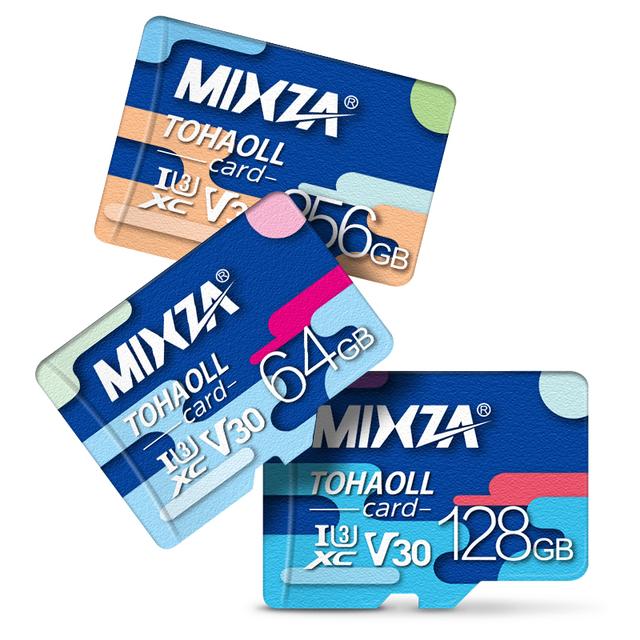 TF Pamäťové karty U1/U3 48-80MB/s s adaptérom na SD