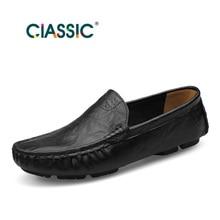 Handmade men flats shoes plus size genuine leather men shoes,breathable soft loafers men Moccasins zapatos hombre