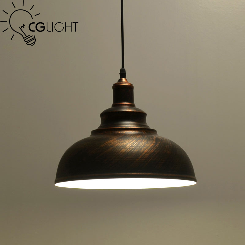 Industrial Pendant Lights Vintage Pendant Lamp Edison Retro Hanging Lampshade Lighting Restaurant /Bar/Coffee Shop Luminarias