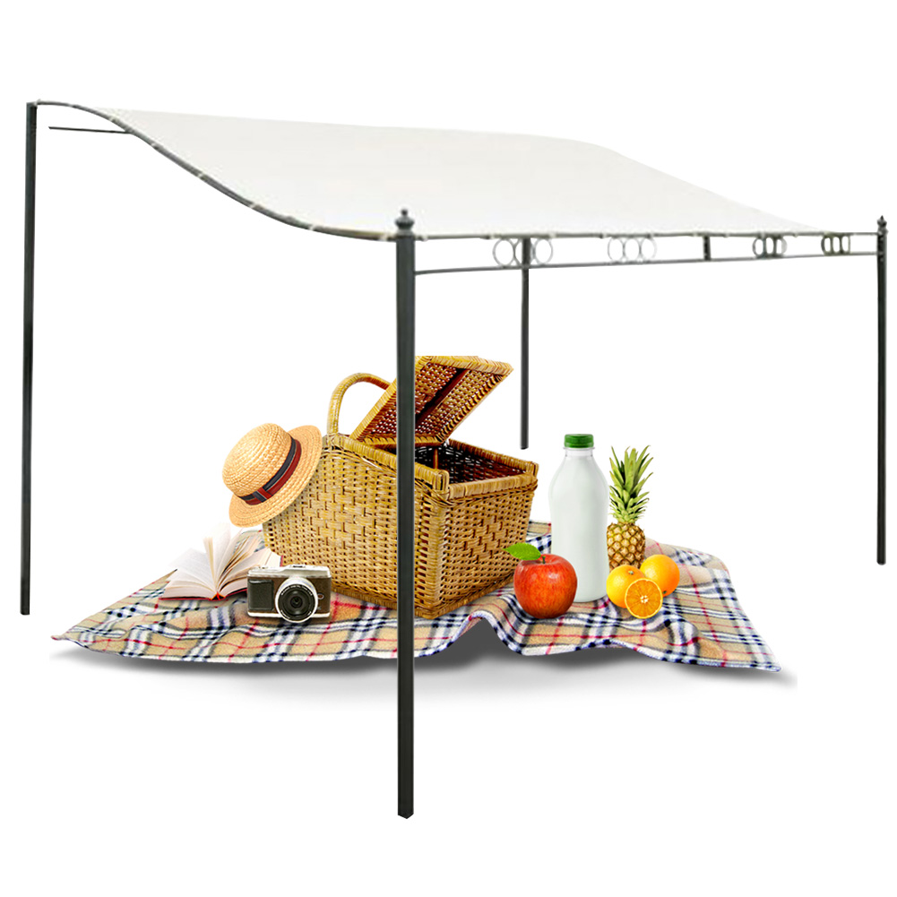 Picnic Patio Roof Top Easy Install Gazebo Camping Beach Sun Shelter Outdoor Garden Water Resistant Canopy Awning Tent