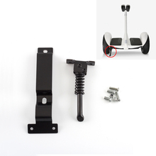 Aluminum Alloy Electric Scooter Kickstand For Ninebot Mini Pro Electric Scooter Balance Parking Stand Bracket ninebot metal material kickstand parking stand kit unicycle one wheel self balance scooter accessory for ninebot one a1 s1 s2