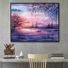 Laeacco Chinese Watercolor Wall Artwork Posters and Prints Canvas Painting Salon Kitchen Living Room Home Decoration Pictures