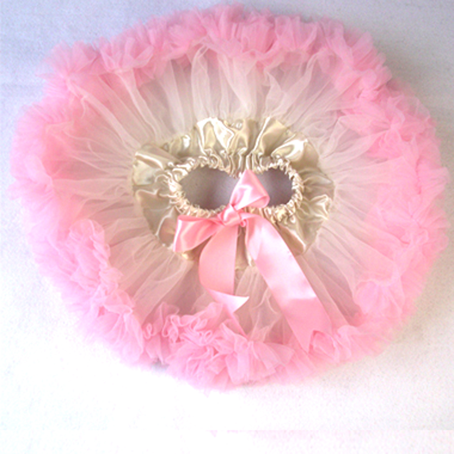 Розового цвета и цвета слоновой кости ребенка юбка детские юбки-американки для маленьких девочек пачка фотографии