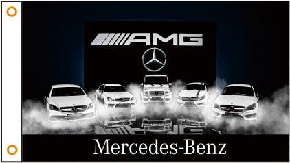 car flag AMG Banner 3ftx5ft 100% Polyester 025(China)
