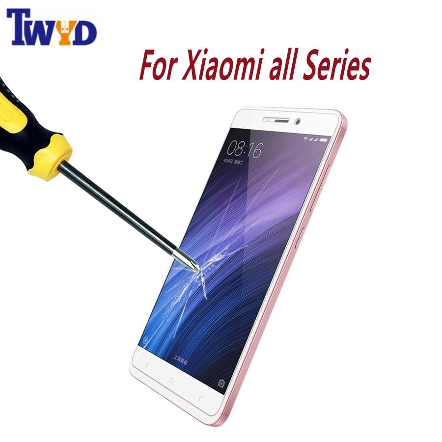Premium Tempered Glass Screen Protector for Xiaomi Redmi 3 3S Pro Note 3 4 4X Note 2 Redmi 3S 4A Mi5S Mi6 Mi5 Mi4 Mi4S Film