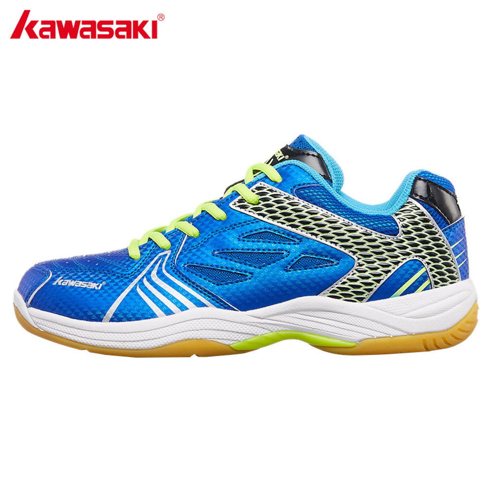 2018 Kawasaki Badminton Shoes Wear-resistant Rubber Anti-Torsion Indoor Court Sports Shoe for Men Women Sneakers K-071 sneakers running shoes sports men and women shoes rubber sole anti skid wear student shoe low upper waterproof air cushion hot