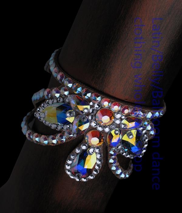 2016  New Arrival Latin Dance Accessories Senior Stones Bracelets For Women Latin Dance Bracelets DXSP0140002