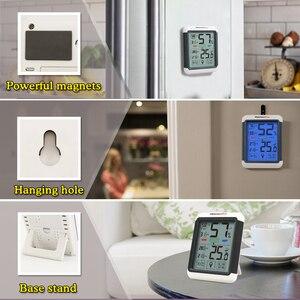 Image 4 - Thermopro タッチスクリーンとバックライトと TP55 デジタル湿度計温度計室内温度計湿度温度センサー