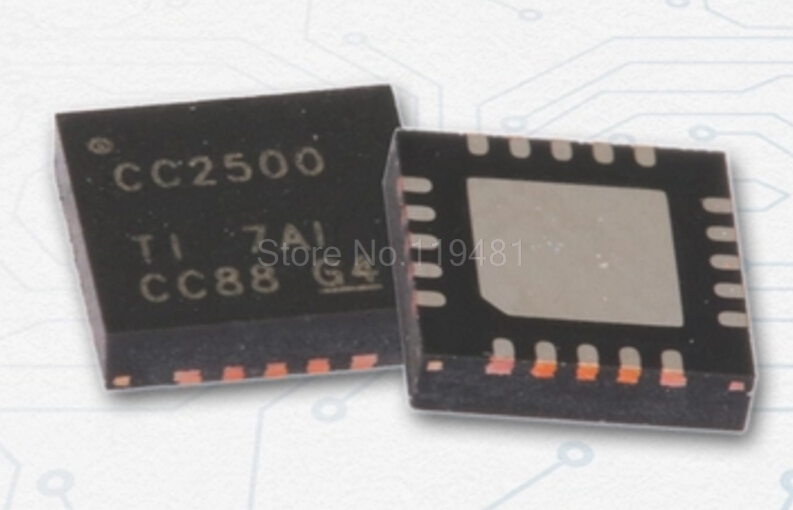 CC2500 Low-Cost Low-Power 2.4 GHz RF Transceiver CC2500RGPR image