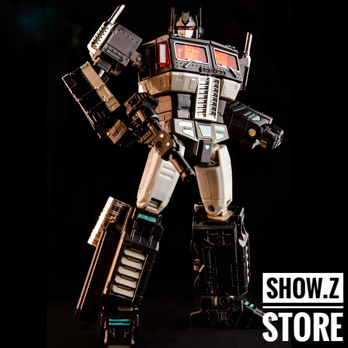 KBB MP-11NT Masterpiece G1 Thrust Conehead Seeker Metal ABS Robot In Stock