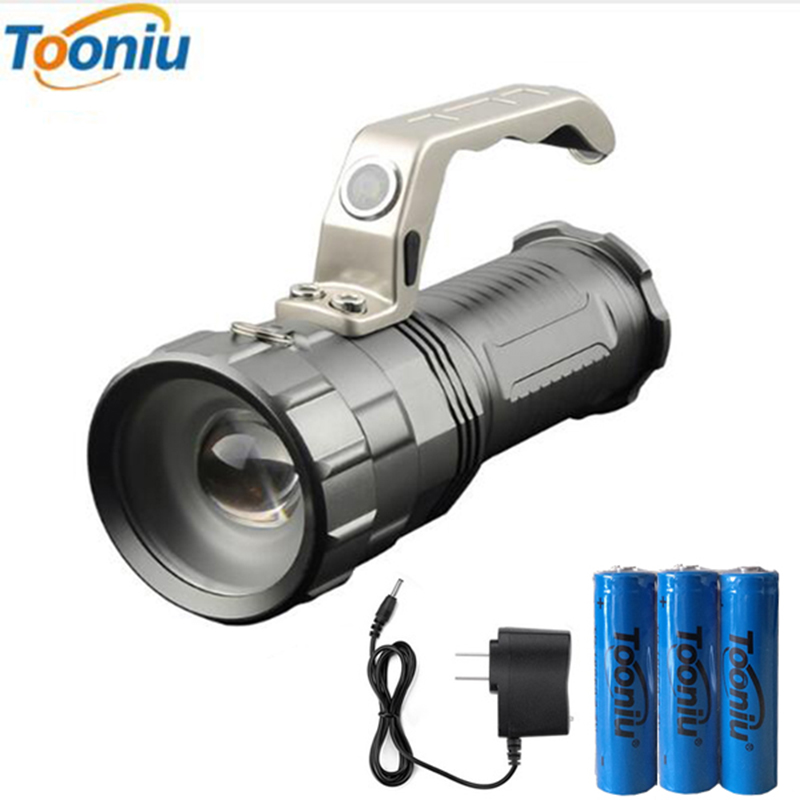 Powerful LED Flashlight CREE XM-L T6 2000LM 3 Modes Torch Search Camping Hunting Fishing Miner's Lamp Lantern Light