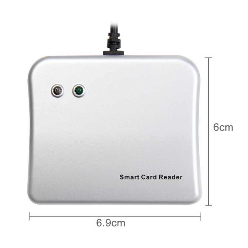 easy comm usb smart card reader ic id card reader high