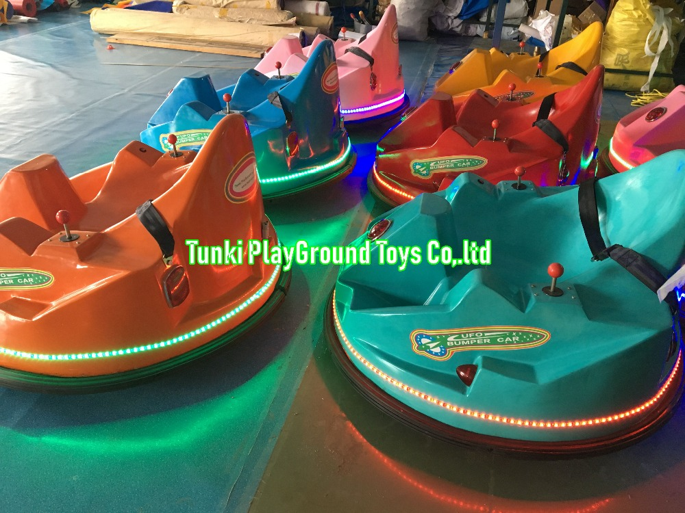 Children Outdoor Bumper Cars