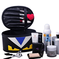 HOT SELL fashion hot sell make up bag big capacity Cartoon Yellow Eyes cosmetic case multifunctional storage beauty box tool bag