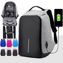 Third Generation USB Charge Anti Theft Backpack Men 15inch Laptop Backpacks Fashion Travel School Bags Bagpack sac a dos mochila-in Backpacks from Luggage & Bags on Aliexpress.com | Alibaba Group