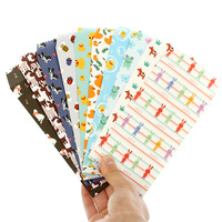 150 Pcs Set Cartoon Ordinary Paper Gift Window Envelopes Cartoon Animals Sobres Kraft Envelopes Papel