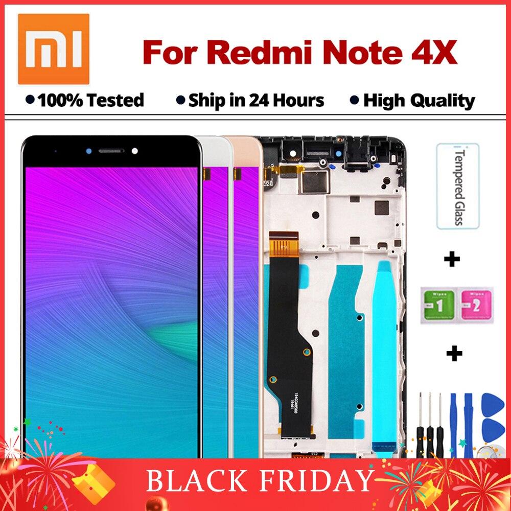Hohe Qualität LCD Für Xiaomi Redmi Hinweis 4X LCD Display Bildschirm + Rahmen Für Redmi Hinweis 4 Globale Version LCD nur Für Snapdragon 625