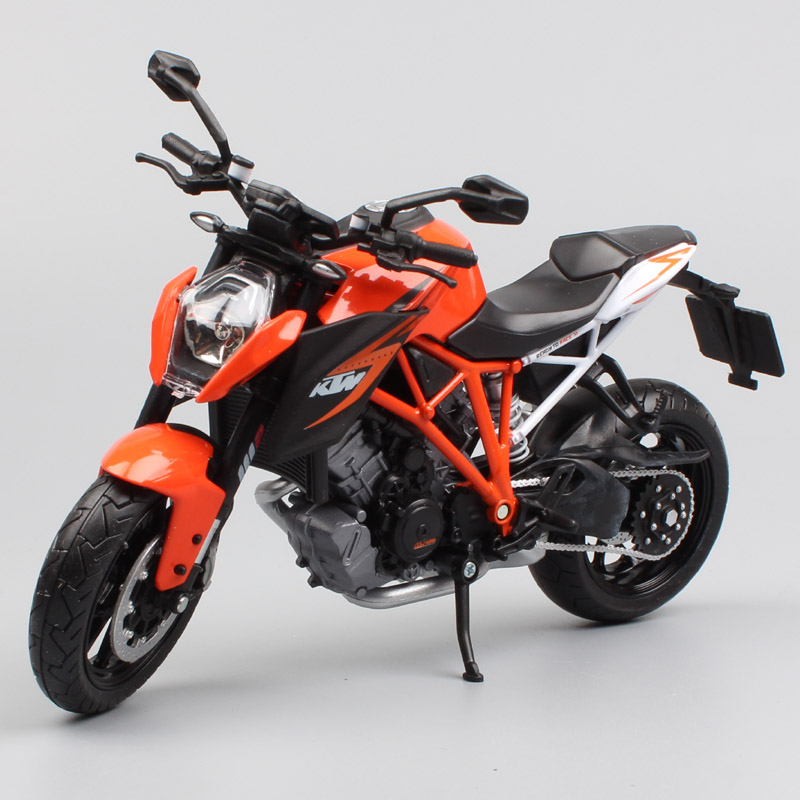 1/12 scale automaxx KTM 1290 Super Duke V twin engine Naked race moto bike Motorcycle diecast vehicle car model toy for children