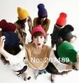 ladies''s fashion Knitted hat Beanie Cap Autumn Spring Winter multi colors unisex men hip-hop earmuffs wholesale