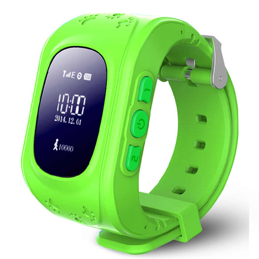 GPS/LBS Q50 SOS เด็กที่พูดได้หลายภาษาสถานีนาฬิกาข้อมือเด็กกลางแจ้งอัจฉริยะ Location โทรศัพท์นาฬิกาสำหรับเด็ก
