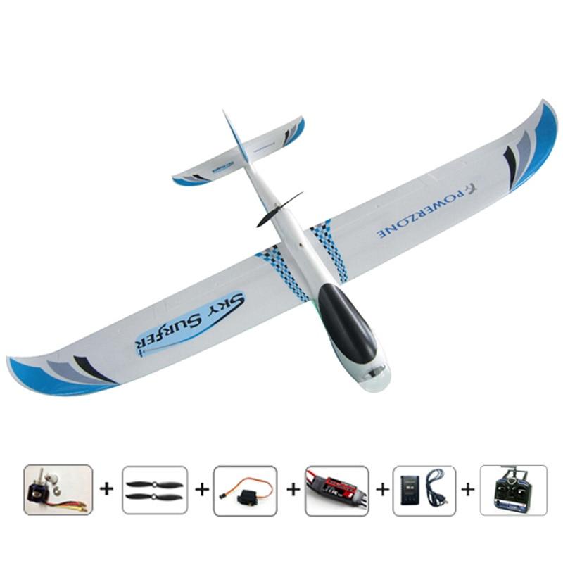Free shipping 2000mm 2M Skysurfer RC glider remote control airplane model hobby aircraft aeromodelling aviao FPV camera RTF toys