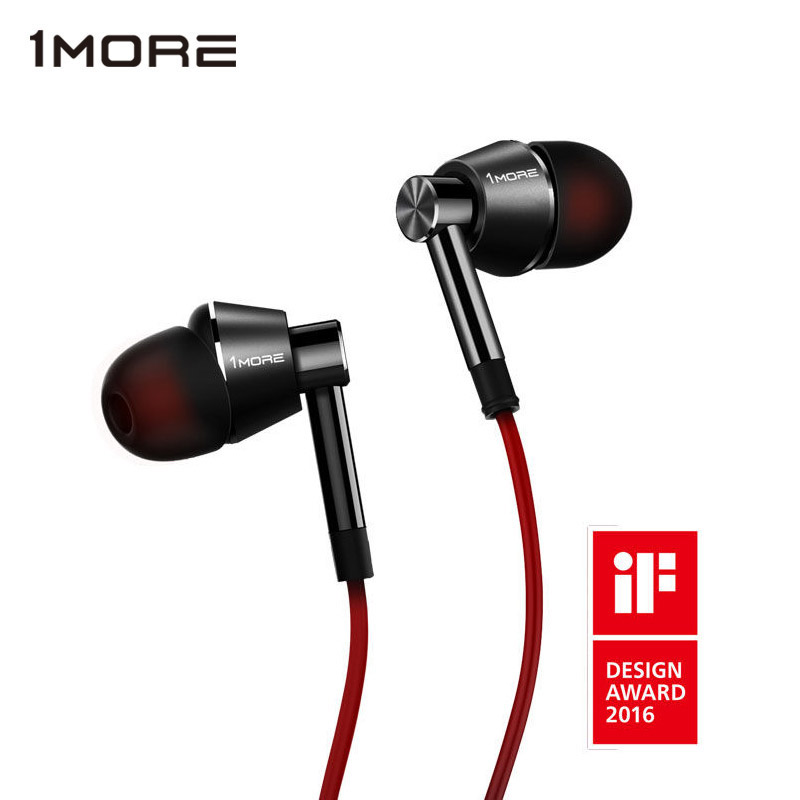 1 MORE 1M301 In-Ear Piston Earphone Super bass Noise Canceling Headset Stereo Earbuds with Microphone for iPhone original brand headphone ptm k1 super bass earphone headset noise canceling earbuds for mobile phone iphone pc earpods airpods