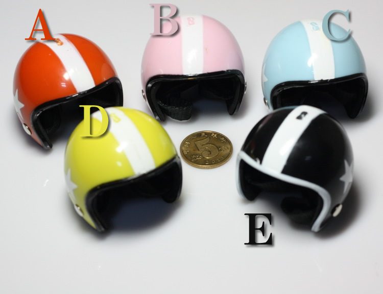 "1/6 scale doll Motorcycle Helmets for 12 ""action figure"
