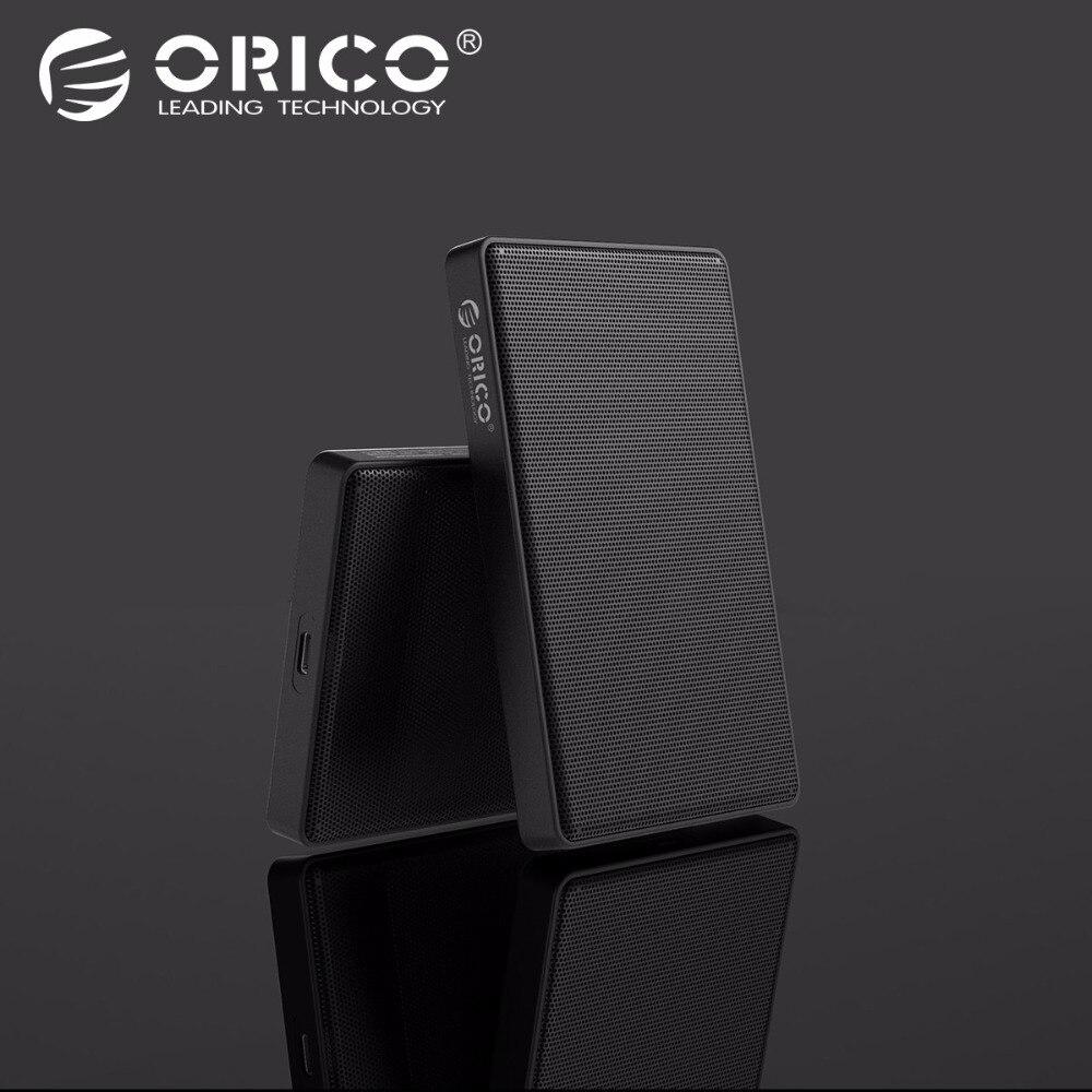 ORICO 2,5 pulgadas SATA a USB 3,1 tipo C HDD SSD funda 2 TB 4 tb Disco Duro caja externa HDD carcasa para Samsung Seagate SSD
