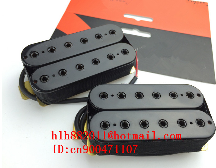 new electric guitar double coil pick-up in black HBB-XBB ART-37 free shipping new electric guitar double coil pickup chb 5 can cut single art 46