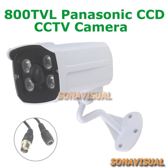 ФОТО Home security camera 1/3'' CCD Sensor 960H indoor outdoor 4untis Array Leds Waterproof ircut filter night vision CCTV Camera