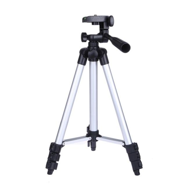 (Max 1060mm)Professional Camera Tripod Stand Holder For iPhone iPad Samsung GALAXY Digital Camera + Phone Holder + Nylon Bag
