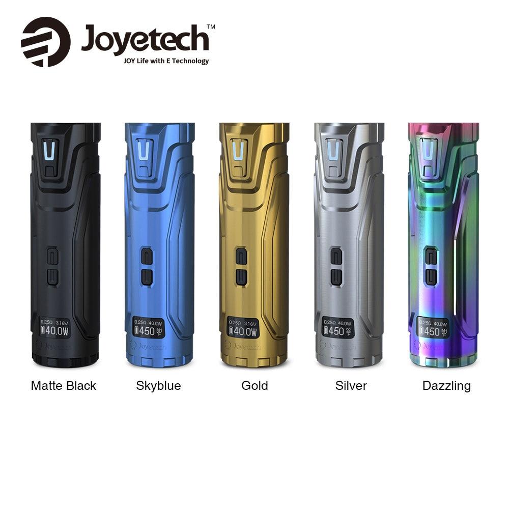 2018 Оригинал Joyetech ULTEX T80 80 Вт Mod Батарея 80 Вт Max Выход без 18650 Батарея для Cubis Max распылитель Vs Evic Primo Mini Mod