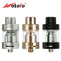 Original Original Wotofo Serpent Mini RTA Tank 3ml Atomizer Single Coil Build Deck Dual Adjustable Airflow