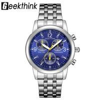 GEEKTHINK Men S Watches Top Brand Luxury Men S Business Watch Waterproof Fashion Casual Quartz Watch