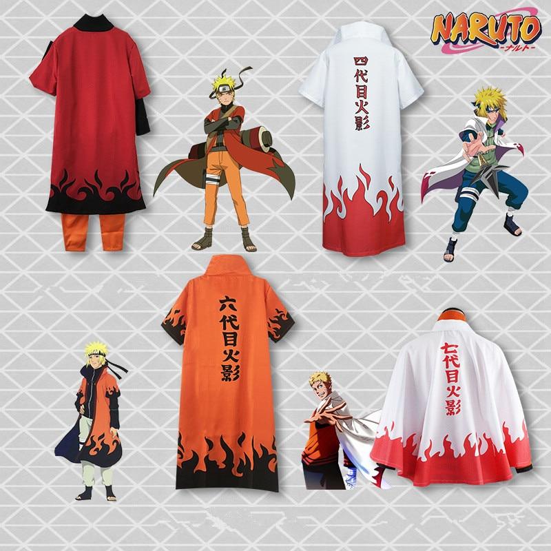 Hot Anime Yondaime Hokage Hatake Kakashi Cloak Cosplay Costumes Uniform