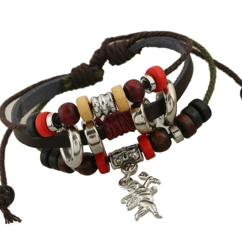 Competitive Products To Fake Something Antique Small Amount Cortex Ornaments Cupid Cowhide Bracelet Jewelry Retro