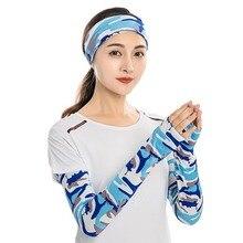 Men Women Arm Sleeve Sport Running Cycling Golf Fishing Fingerless Arm Warmers Basketball Cuff Sleeves lace fingerless arm sleeves with criss cross