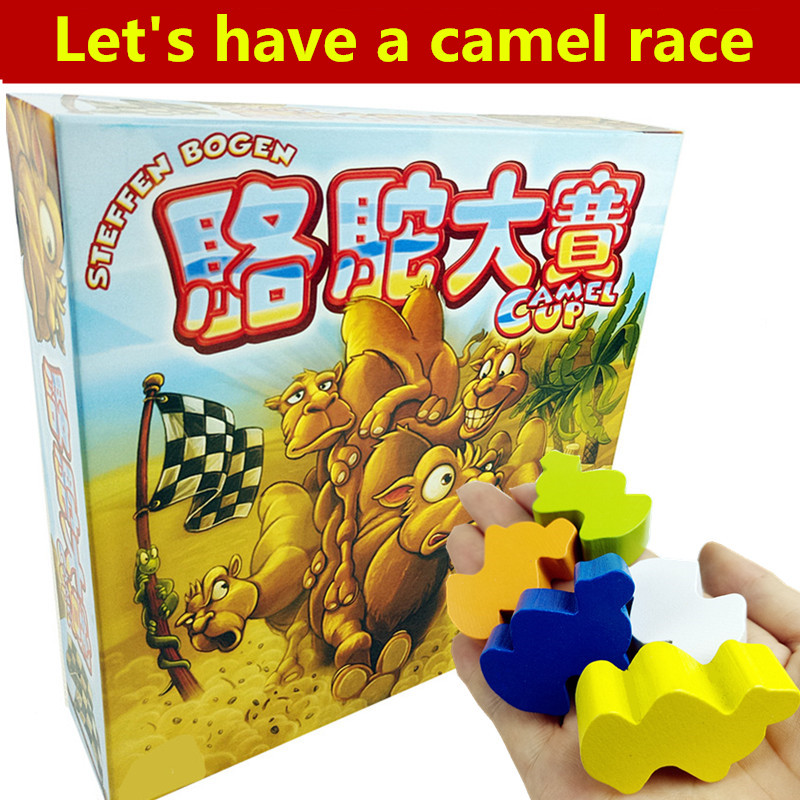 Hot Board Game Camel Up FUNNY Game for 2-8 Players Party Family Game