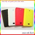 100% Оригинальный Новый Крышка Батарейного Отсека Чехол Жилищно Обложка Чехол Для Nokia Asha 501 Запасная Часть